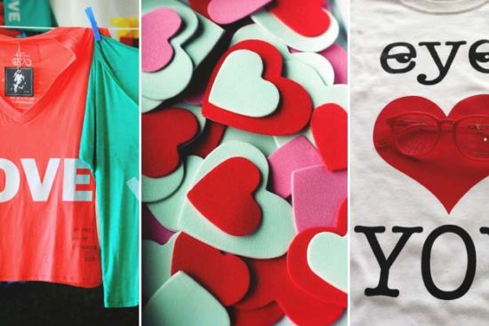 28 Awesome DIY Valentine's Day T-Shirt Ideas