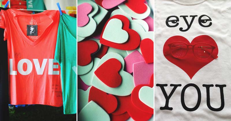 2153dc065 28 Awesome DIY Valentine's Day T-Shirt Ideas