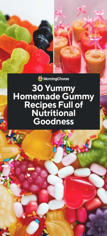 homemade gummy recipes