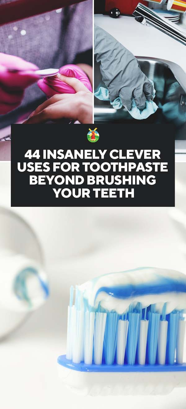 44 Insanely Clever Uses For Toothpaste Beyond Brushing