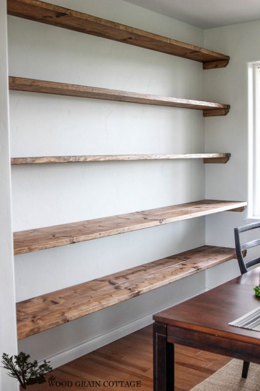 This Open Shelving Would Be Incredibly Handy To Have In A Frequently Used Room Like Dining Kitchen Or Living There Is No Limit On The Number