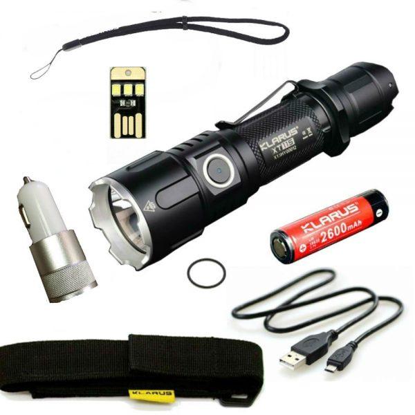 Klarus XT11S LED Compact Tactical Rechargeable Flashlight