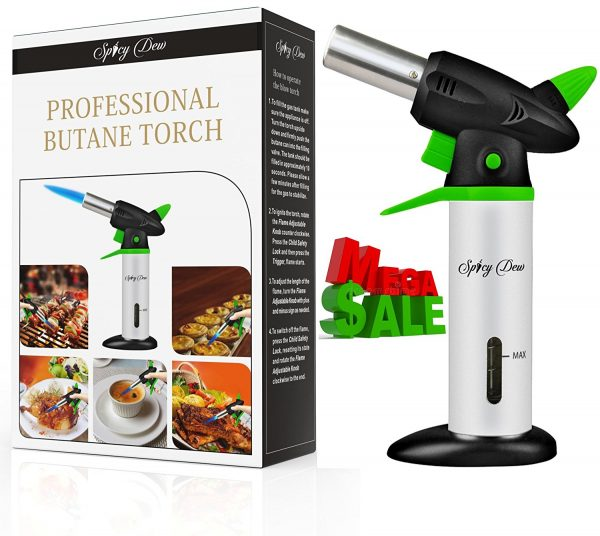 Spicy Dew Kitchen Torch