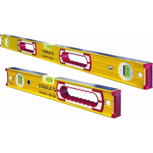 Stabila 37816 48-Inch and 16-Inch Box Beam Level Set