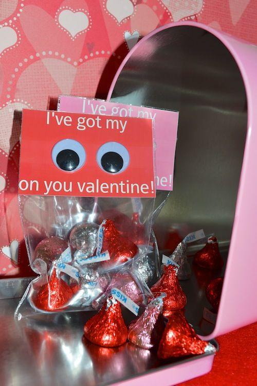 3a55698d49a4 18. I ve Got My Eyes on You! This is another super simple Valentine s Day  idea for fun ...