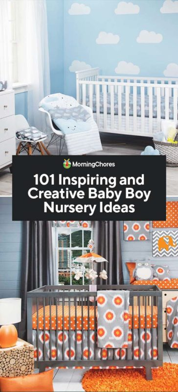 Baby Boy Room Color Ideas: 101 Inspiring And Creative Baby Boy Nursery Ideas