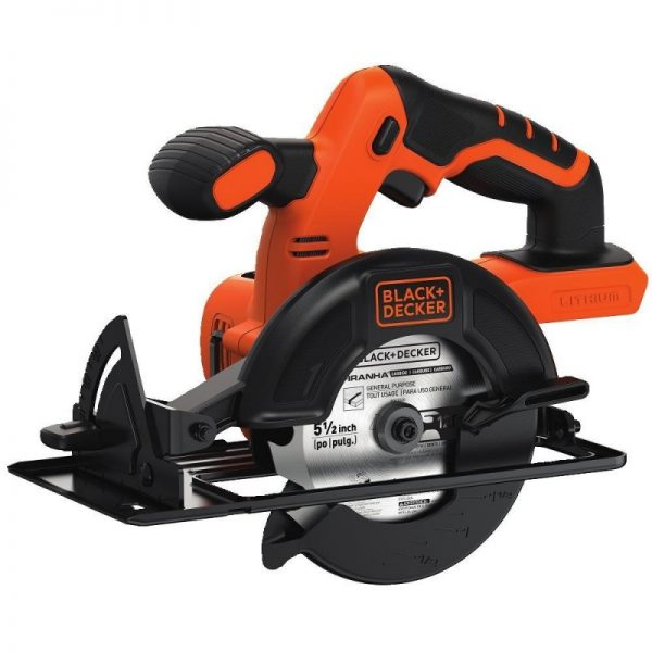 BLACK+DECKER BDCCS20B 20-Volt MAX Lithium-Ion 5.5-inch Circular Saw