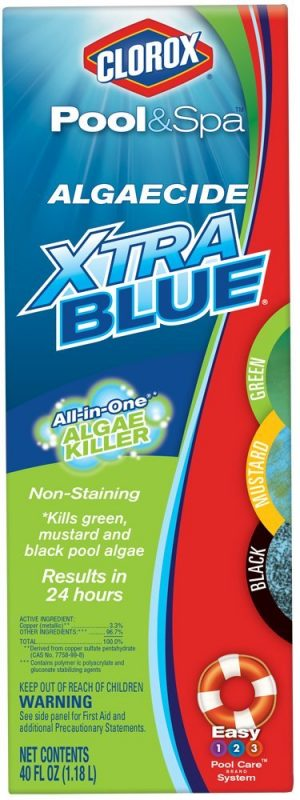 Clorox Pool and Spa Xtra Blue Algaecide