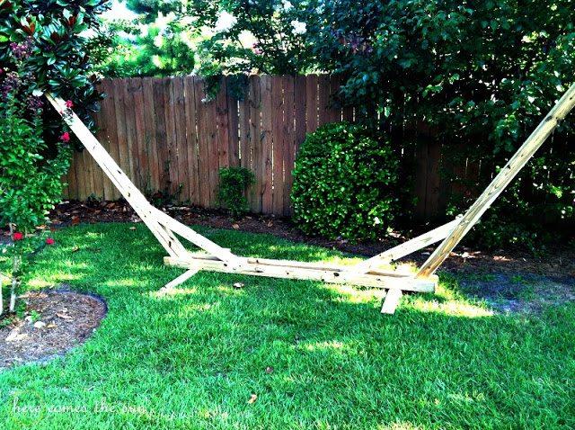DIY hammock hanger