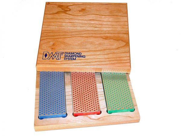 DMT W6EFC Three 6-Inch Diamond Whetstone Set