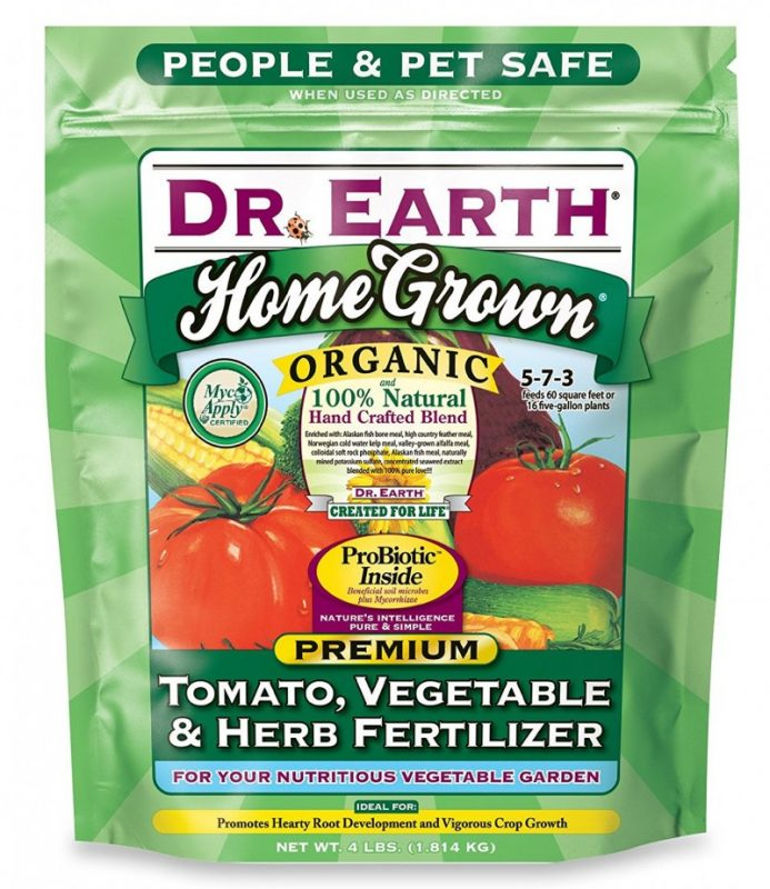Dr. Earth Organic 5 Tomato, Vegetable & Herb Fertilizer