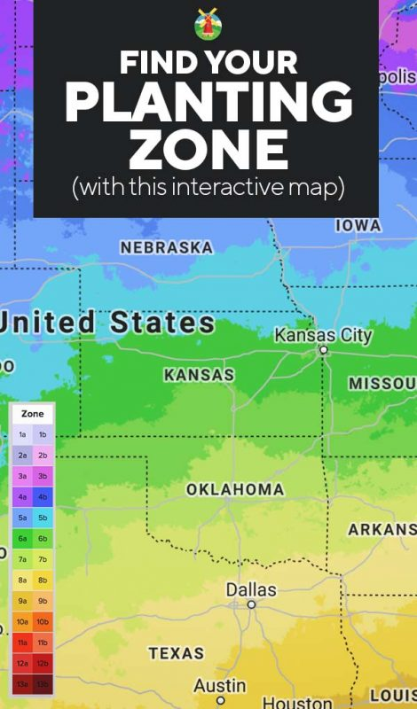 Planting Zones Map | Find Your Gardening Zones by ZIP Code