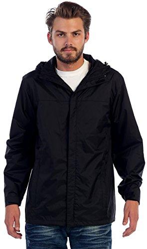 Gioberti Men's Rain Jacket