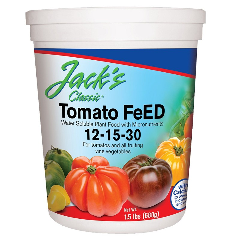 JR Peter's 51324 Jack's Classic 1.5lbs Tomato Feed Fertilizer