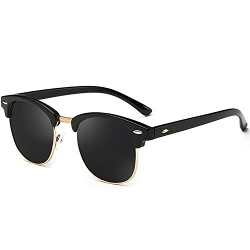 Joopin Semi Rimless Women Men Retro Brand Sunglasses