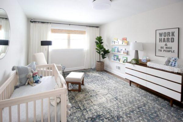 modern baby boy nursery ideas
