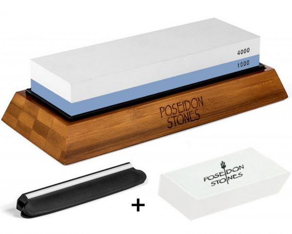 Poseidon Stones Sharpening Stone Set Whetstone