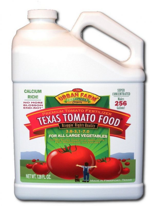 Urban Farm Fertilizers Texas Tomato 1 Gallon Food Fertilizer