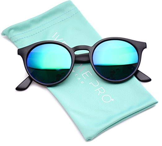 WearMe Pro - Classic Small Round Retro Sunglasses