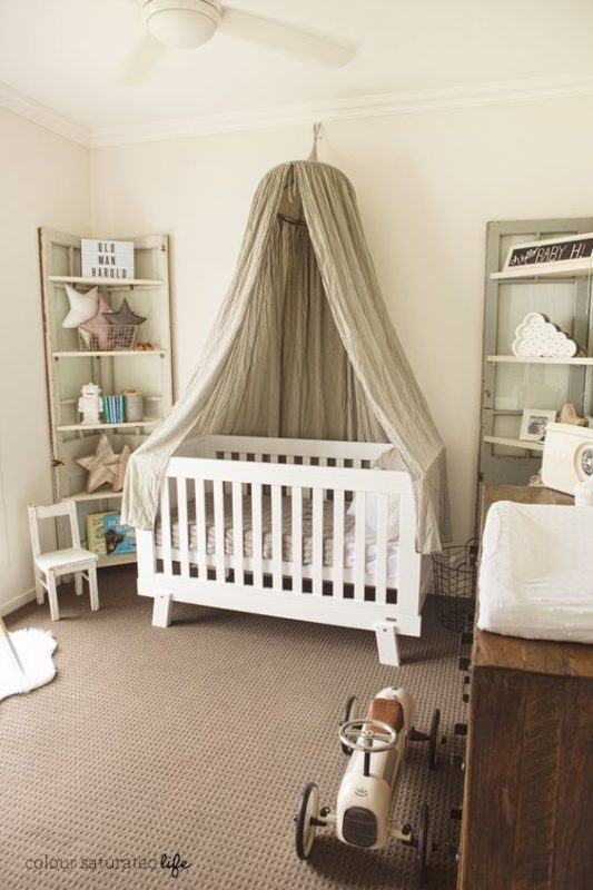 Vintage Accents In An Ized Room Is A Great Theme To Use For Your Baby Boy S Nursery So Cool