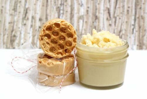 honeycomb body butter