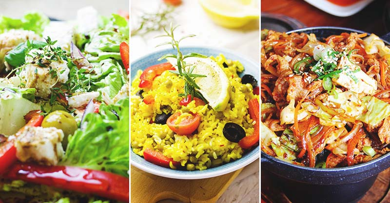 100 Easy And Healthy Dinner Recipes To Make Your Day A Breeze