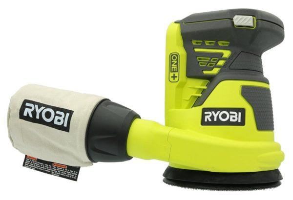 Ryobi P411 One+ 18 Volt 5 Inch Cordless Random Orbit Sander