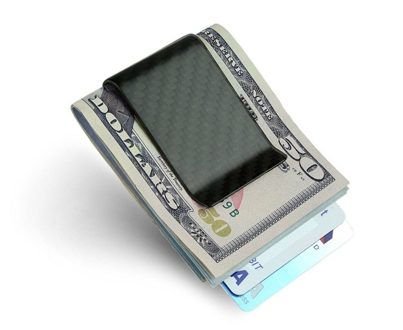 SERMAN BRANDS Money Clip Credit Card Holder