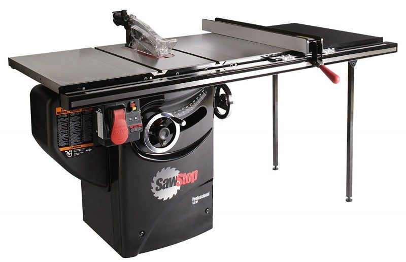 SawStop PCS31230-TGP236 3-HP Professional Cabinet Table Saw