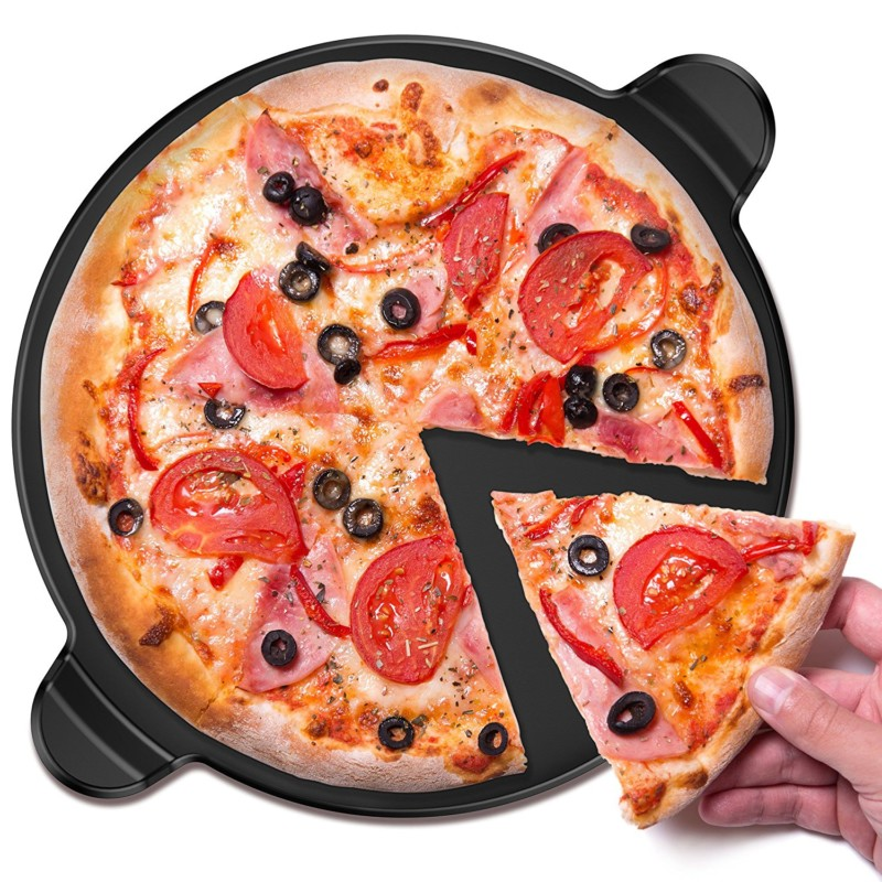 Vremi 15-inch Ceramic Pizza Stone