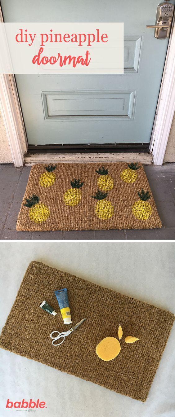 diy doormats