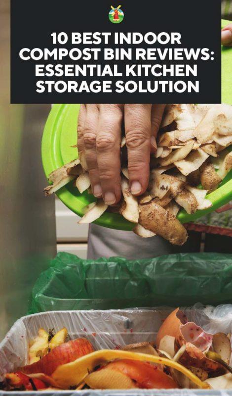 10 Best Indoor Compost Bin Reviews Essential Kitchen