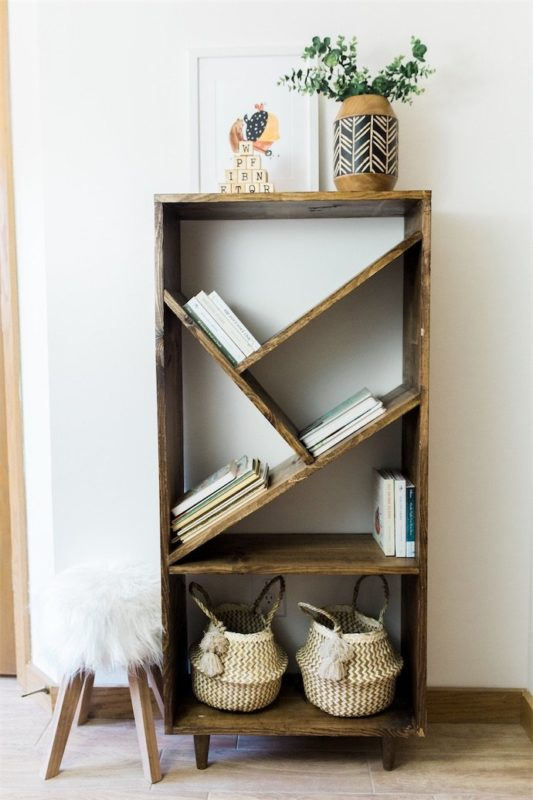 141 Diy Bookshelf Plans Amp Ideas To Organize Your