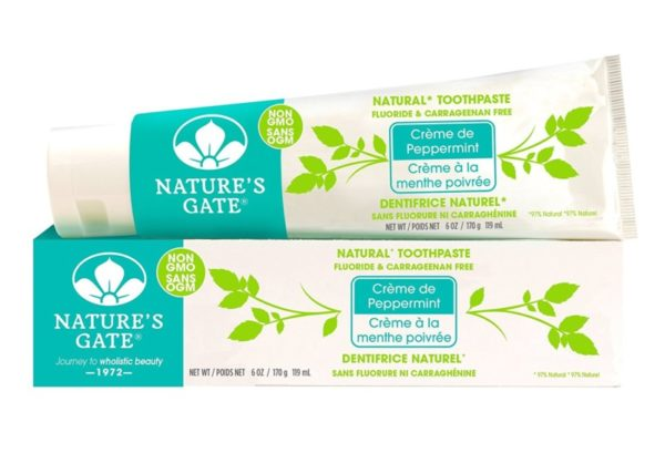 Nature's Gate Natural Toothpaste Pack of 6