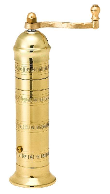 Pepper Mill Imports Atlas 8-inch Brass Pepper Mill