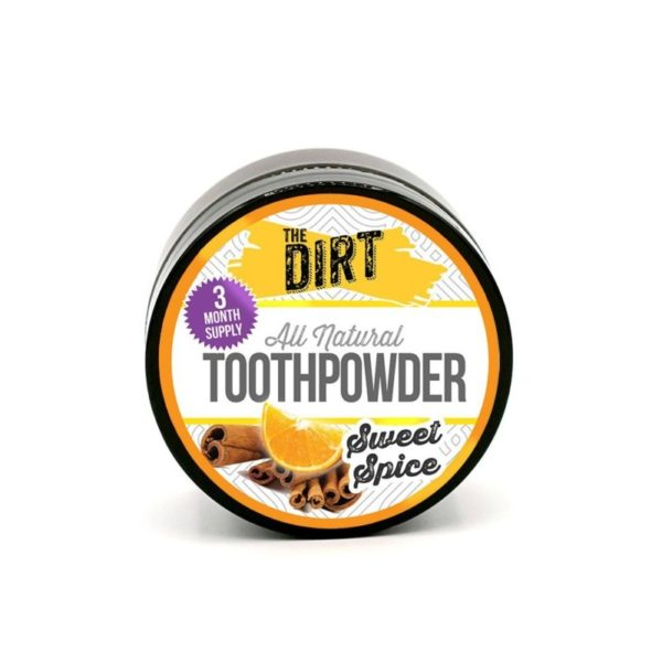 The Dirt Tooth Brushing Powder