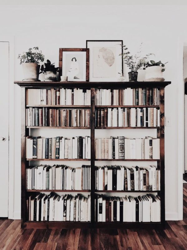 141 DIY Bookshelf Plans & Ideas to Organize Your ...