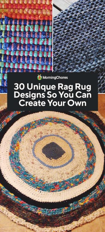 30 Unique Diy Rag Rug Designs So You Can Create Your Own