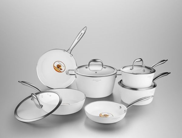 Cooksmark 10-Piece Induction Cookware Set