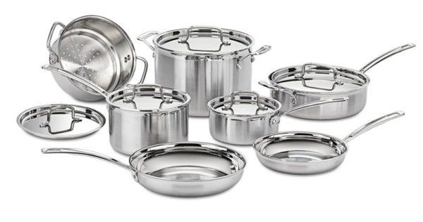 Cuisinart MCP-12N 12-Piece Induction Cookware Set