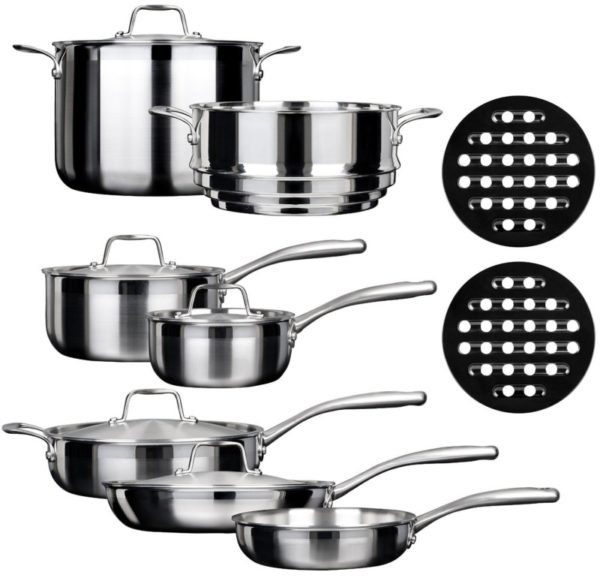 Duxtop SSC-14PC 14-Piece Induction Cookware Set