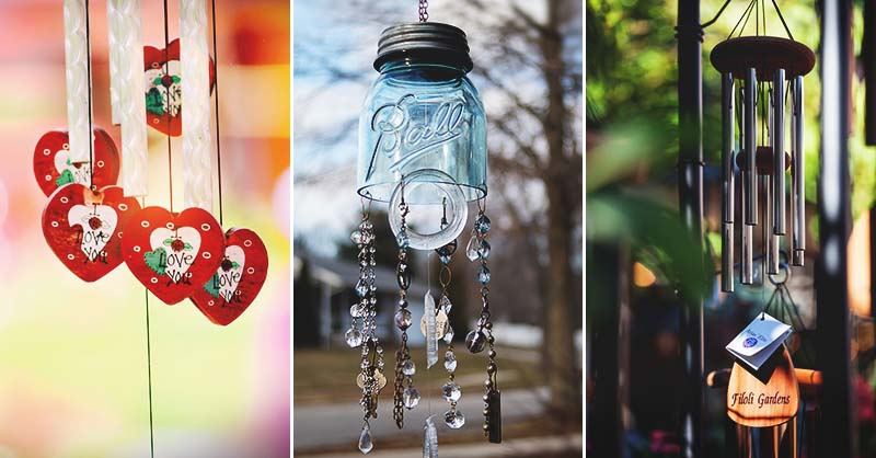 33 Charming Diy Wind Chimes To Brighten Up Your Day