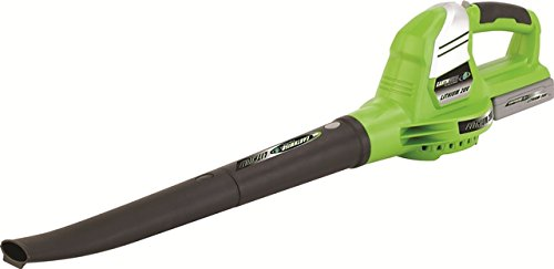 Earthwise LB20020 20-Volt Cordless Single Speed 130 MPH Leaf Blower