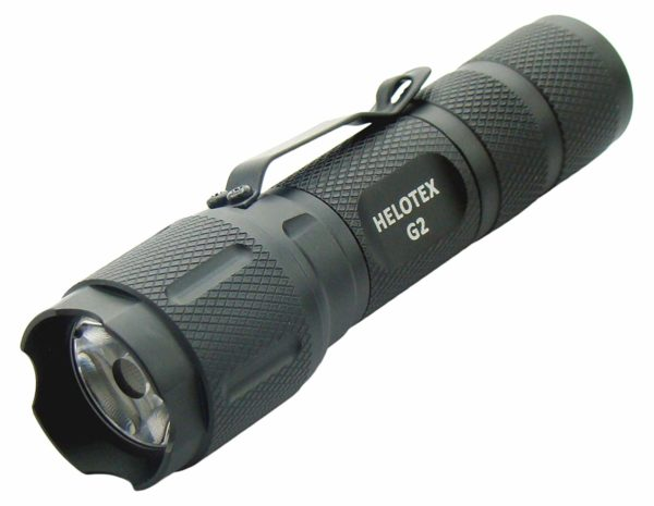 Helotex G2 130-lumens Tactical EDC Flashlight