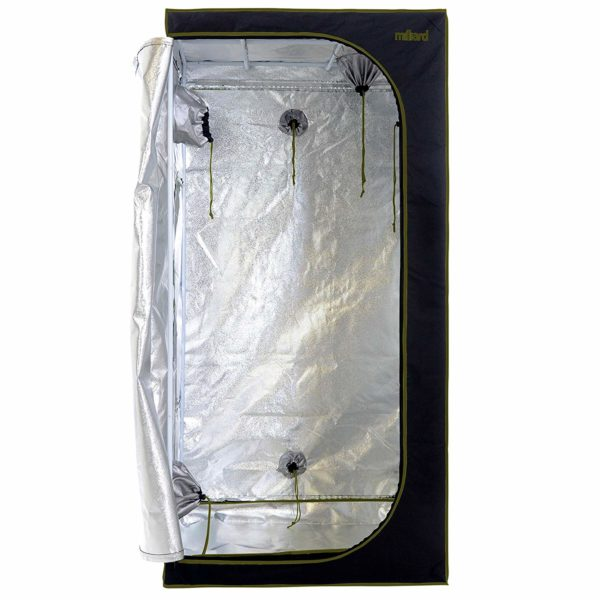 MILLIARD Horticulture 36x36x73-inch Hydroponic Grow Tent