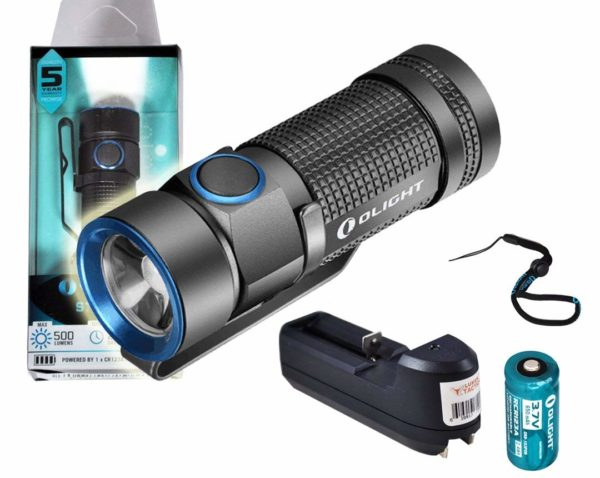 Olight S1 500 Lumens Baton EDC Flashlight