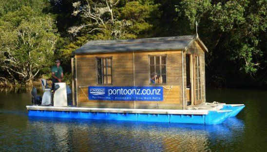 We're going to jump right in with a doozy to choose from. If you're in the market for not only a boat but a houseboat, you may be wondering if this could ...