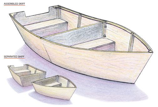 Whether you need a small fishing boat or a smaller boat to paddle around a pond, these plans are great for either.