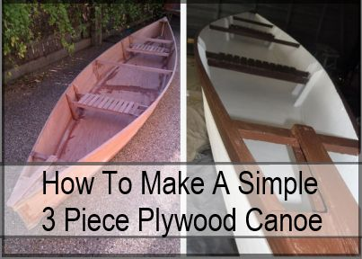 A Small DIY Canoe Build in Pictures