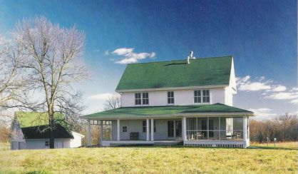 431 best images about White Farmhouse on Pinterest ... |Old American Farmhouse Plans